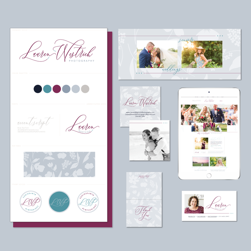 Brand and Showit Website Design for Lauren Westrich Photography