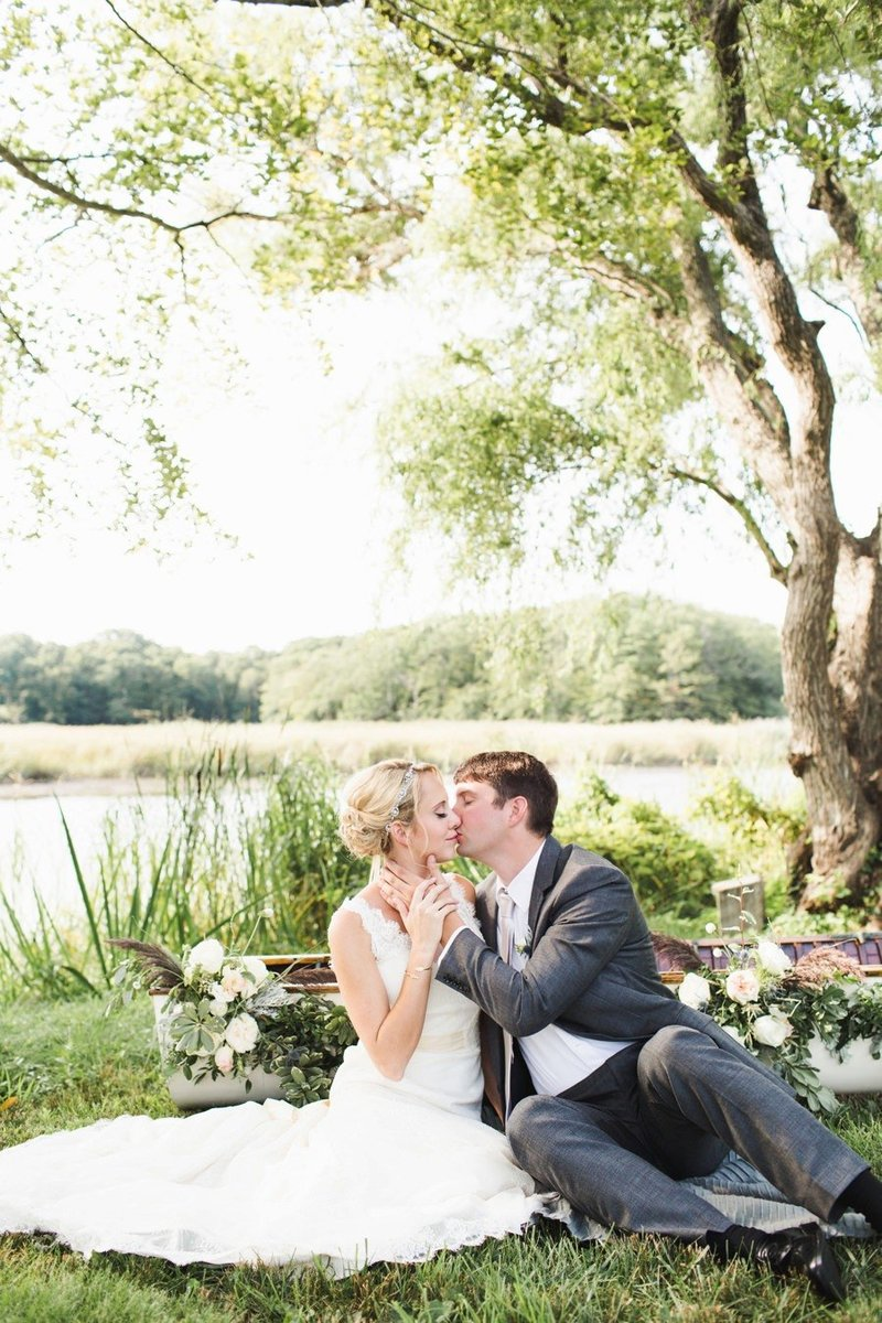 Watercolor inspired wedding at Florence Griswold Museum