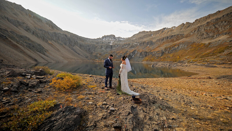 Telluride hiking elopement film | Colorado Elopement Videography