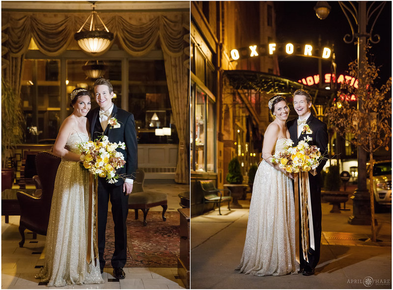 Luxurious Wedding at the Oxford Hotel Downtown Denver Colorado