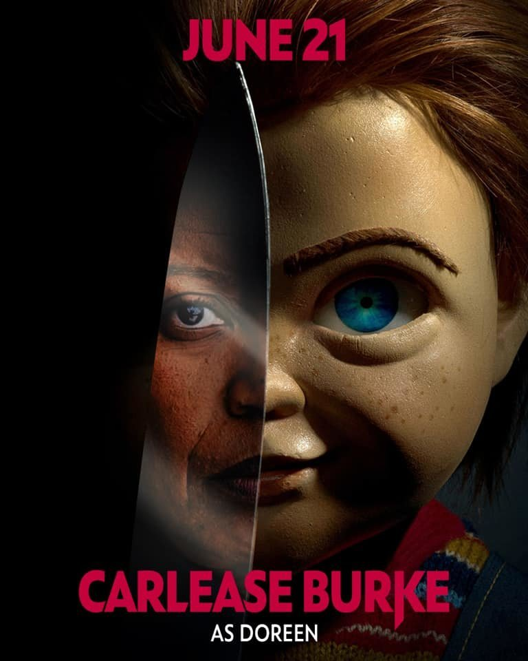 Carlease Burke in Childs Play as Doreen