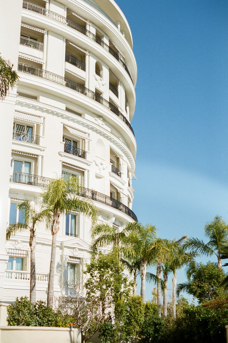 Hotel de paris building in Monaco