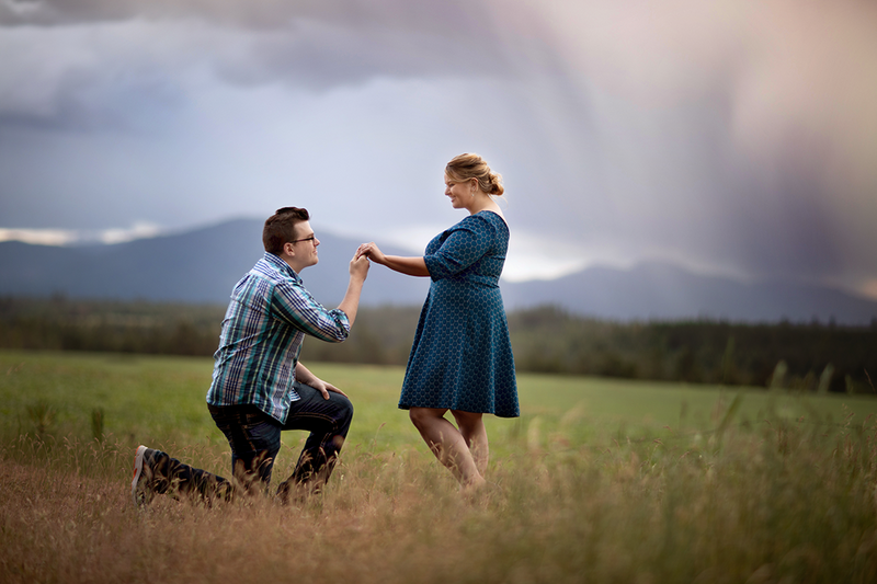 Engagement Photographer Billings Montana