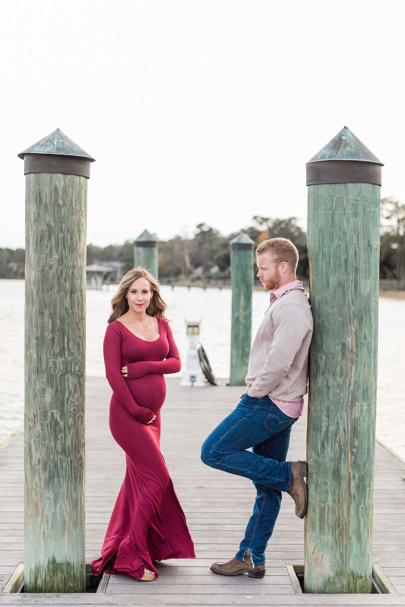 Erin and Kevin's Montage Palmetto Bluff Maternity Session