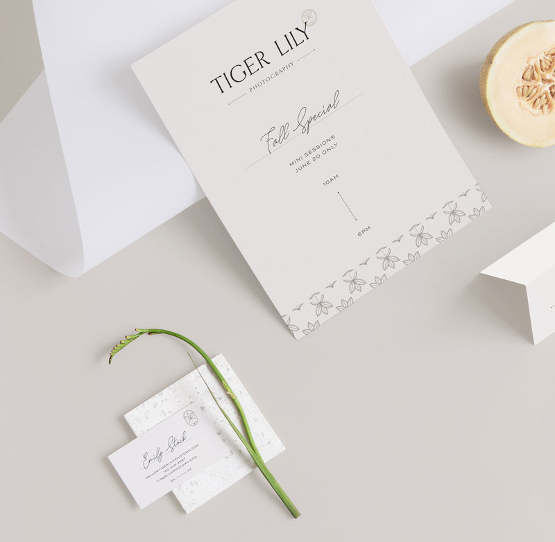 Branding and stationery for photographers