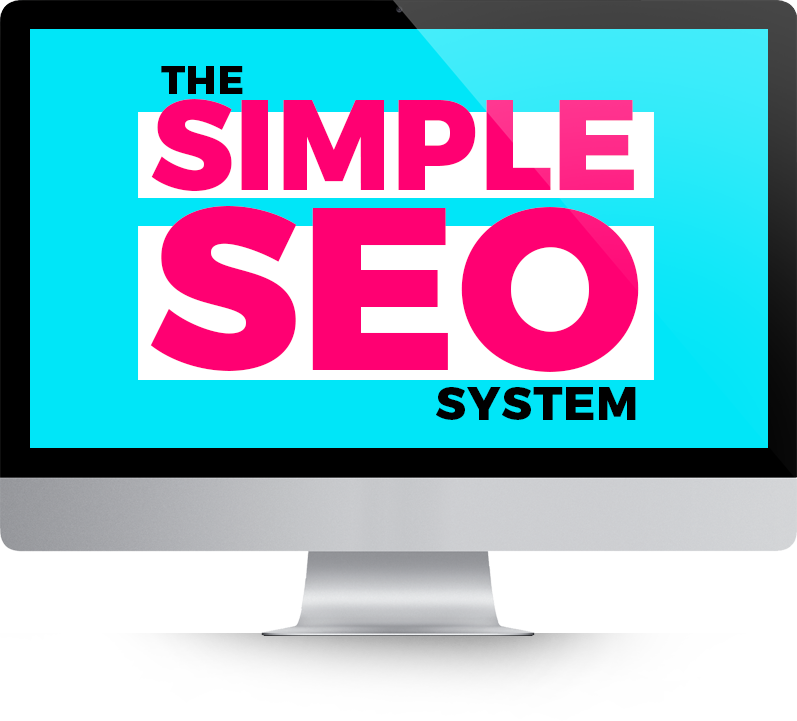 Simple SEO System Computer Badge