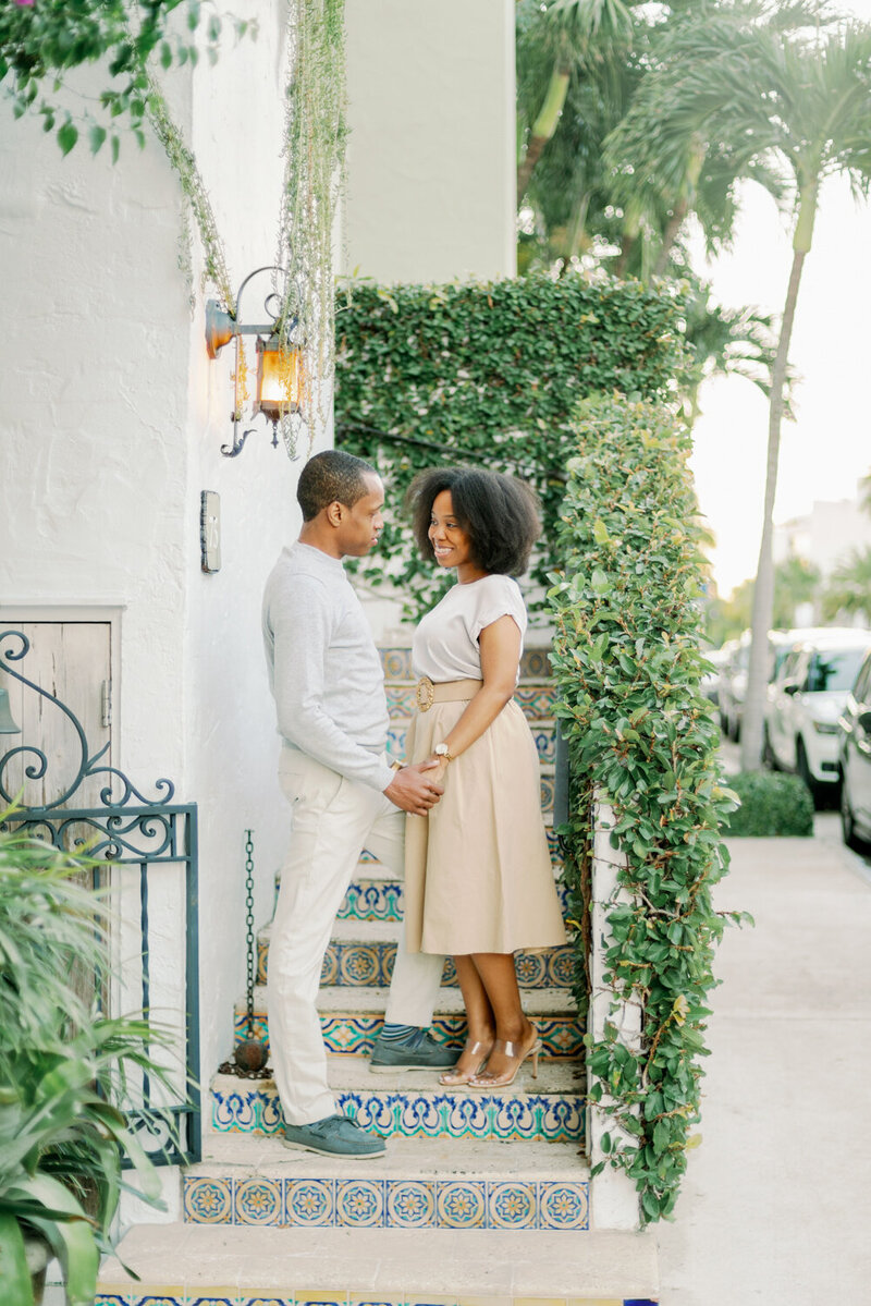 Palm Beach Worth Ave Engagement Session - Melissa Blythe Photography-51