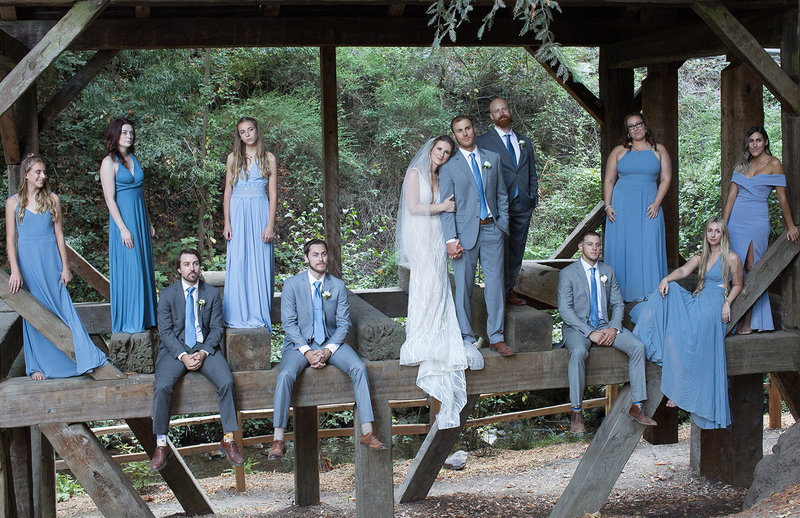 Northern California Forest wedding