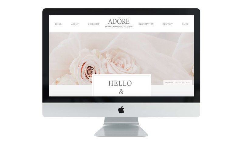 Adore Photo Studio Mock Up