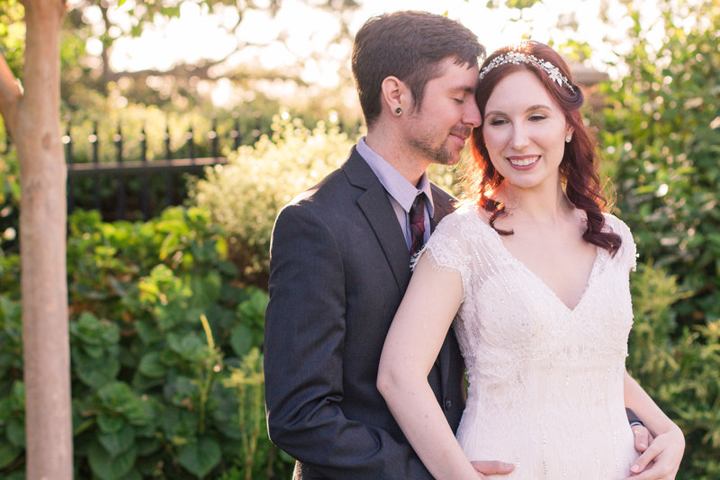 Burgundy DIY Wedding at the Rocklin Event Center by Adrienne and Dani Photography