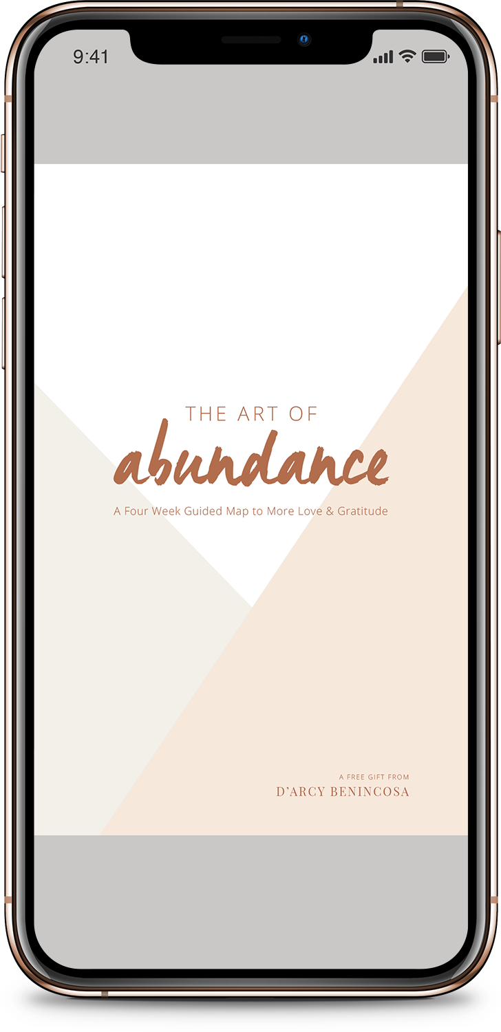 Art of Abundance iPhone XS Mockup