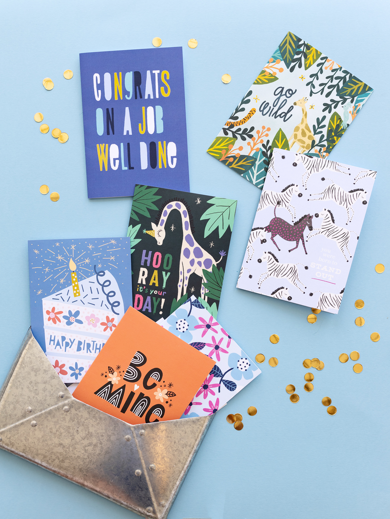 Greeting card designs by Pace Creative Design Studio