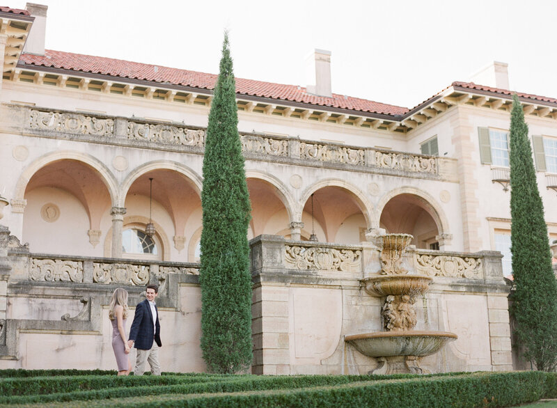 10-13-2020 Justin and Sydney Engagement Photos at Philbrook Museum Tulsa Wedding Photography-39