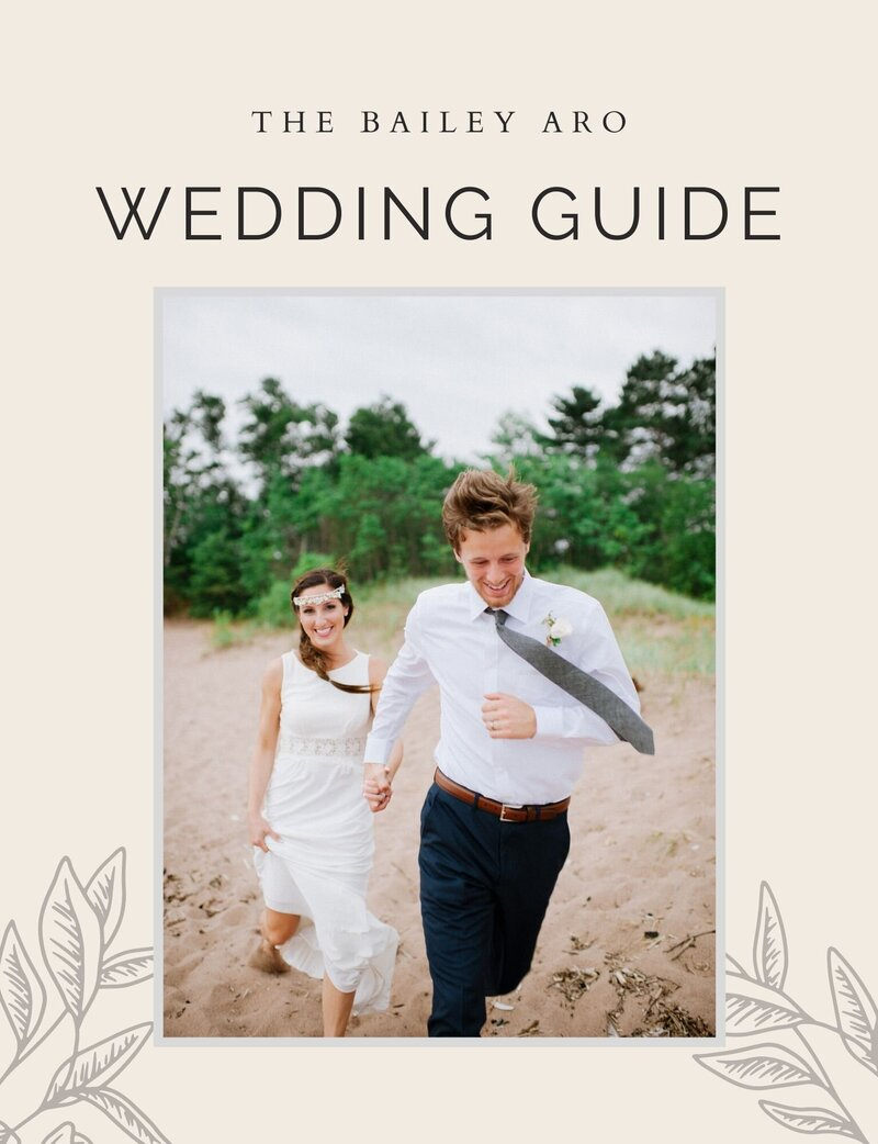 Customizable Wedding Guide for Photographers