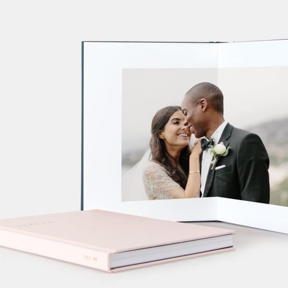 Professional Leather bound albums | Rebecca Musayev Photography