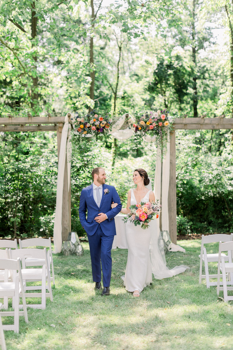 Summer wedding at the Anthony Wayne House photographed by Caroline Morris Photography