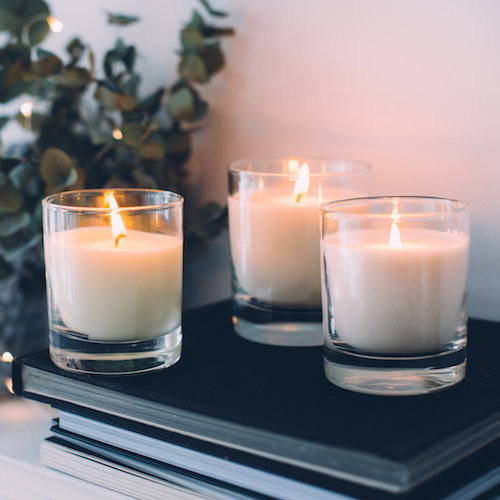 candle trio eco wax sst