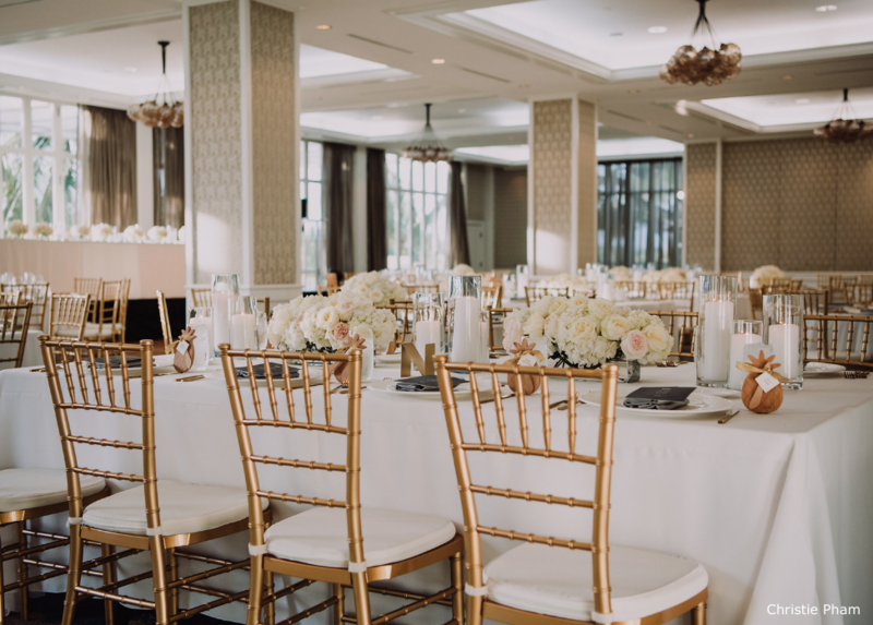 WM Four Seasons malolo gold chiavari chairs wedding