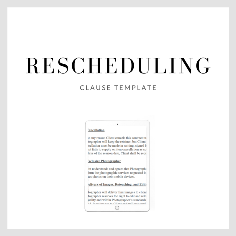 Rescheduling Clause