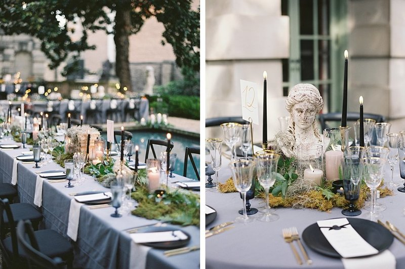35-renaissance-black-and-green-wedding-decor