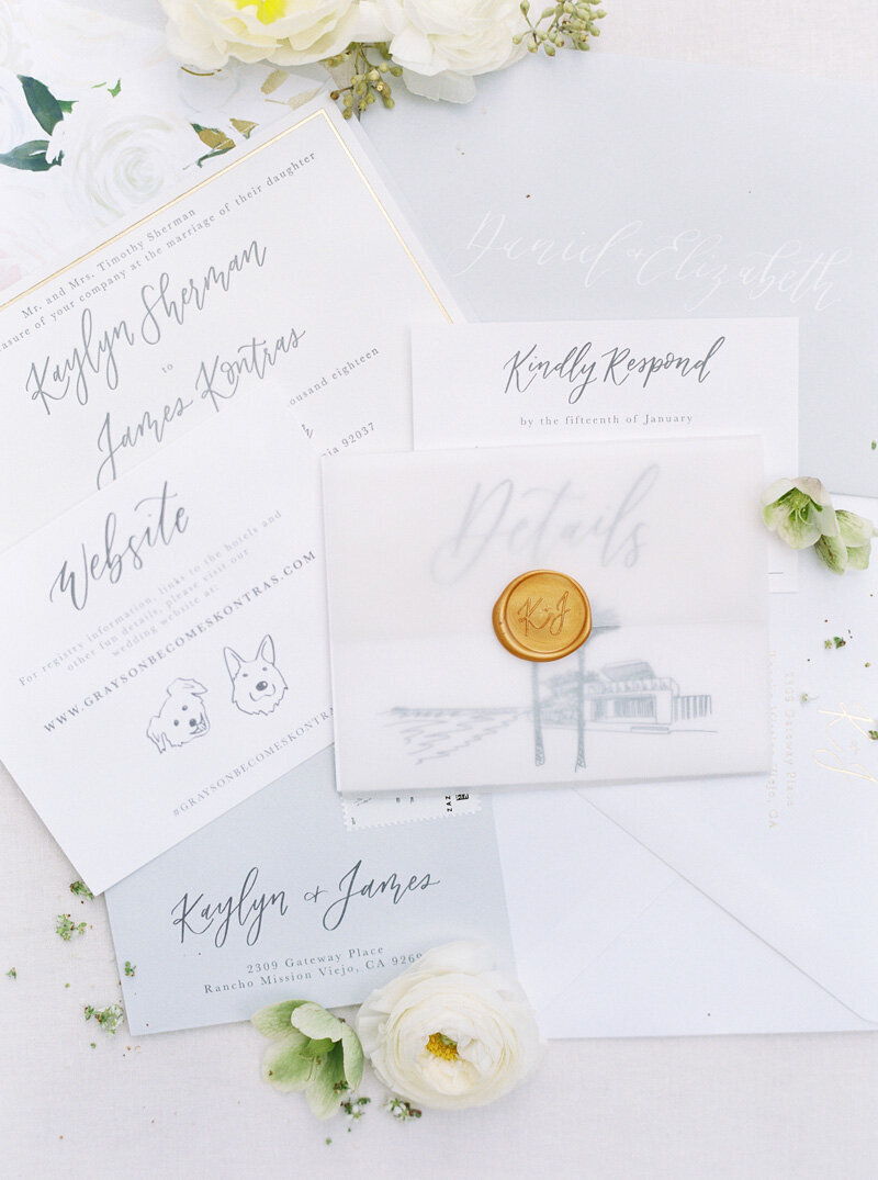 pirouettepaper.com | Wedding Stationery, Signage and Invitations | Pirouette Paper Company | Scripps Seaside Forum La Jolla Wedding | Savan Photography _ (25)