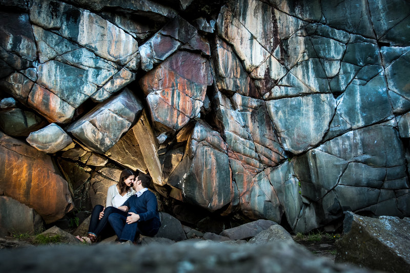 engagement session by taylor falls