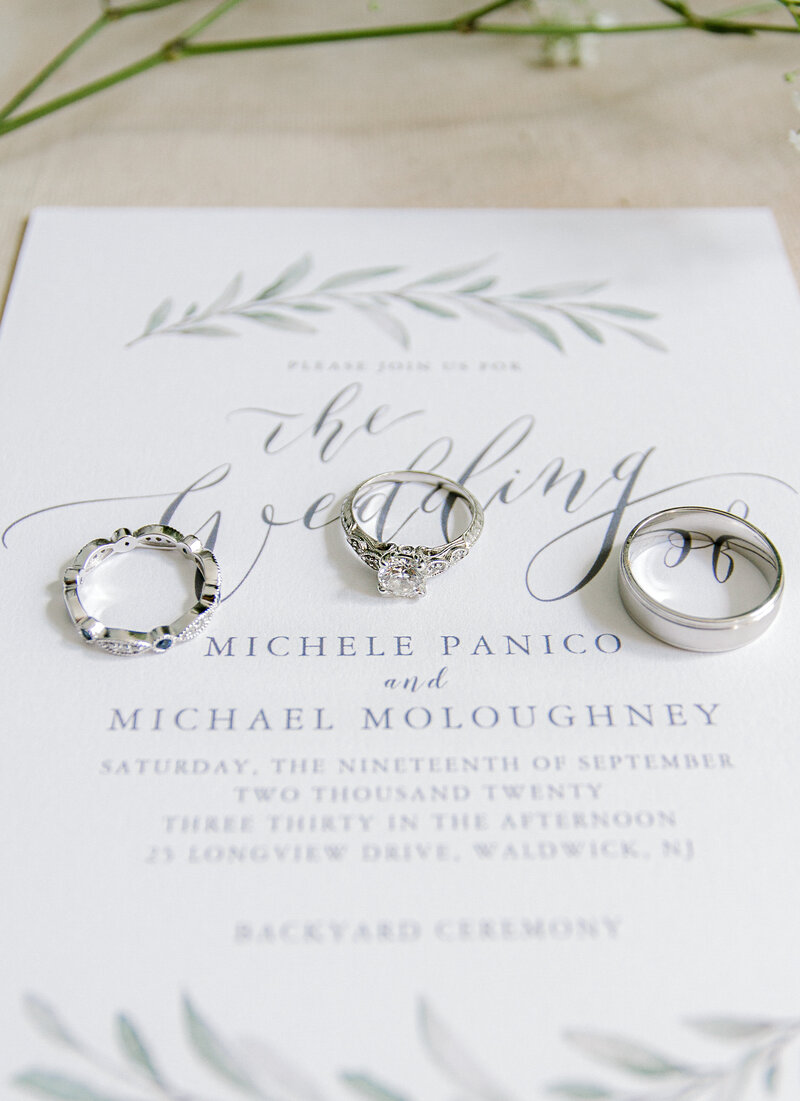 Michele & Michael Intimate Wedding 9-19-20 | Details4