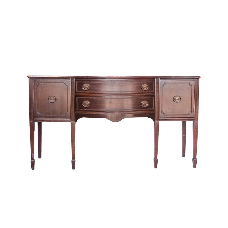 Beautiful mahogany buffet.