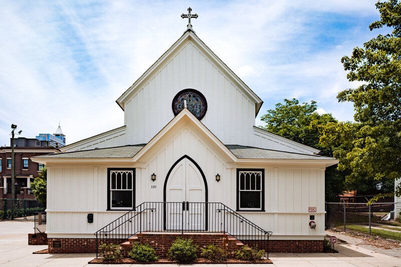 All Saints Chapel - Raleigh Wedding Venue
