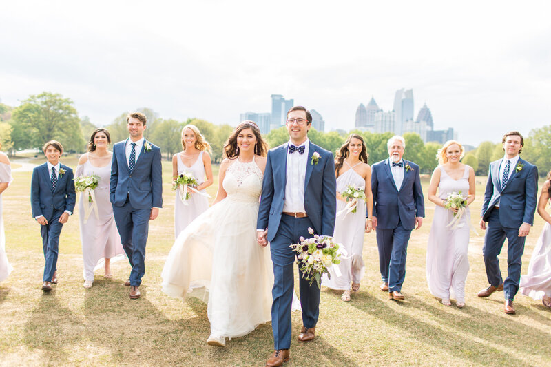 Savannah Eve Photography- Groseclose Wedding- Full Bridal Party-10