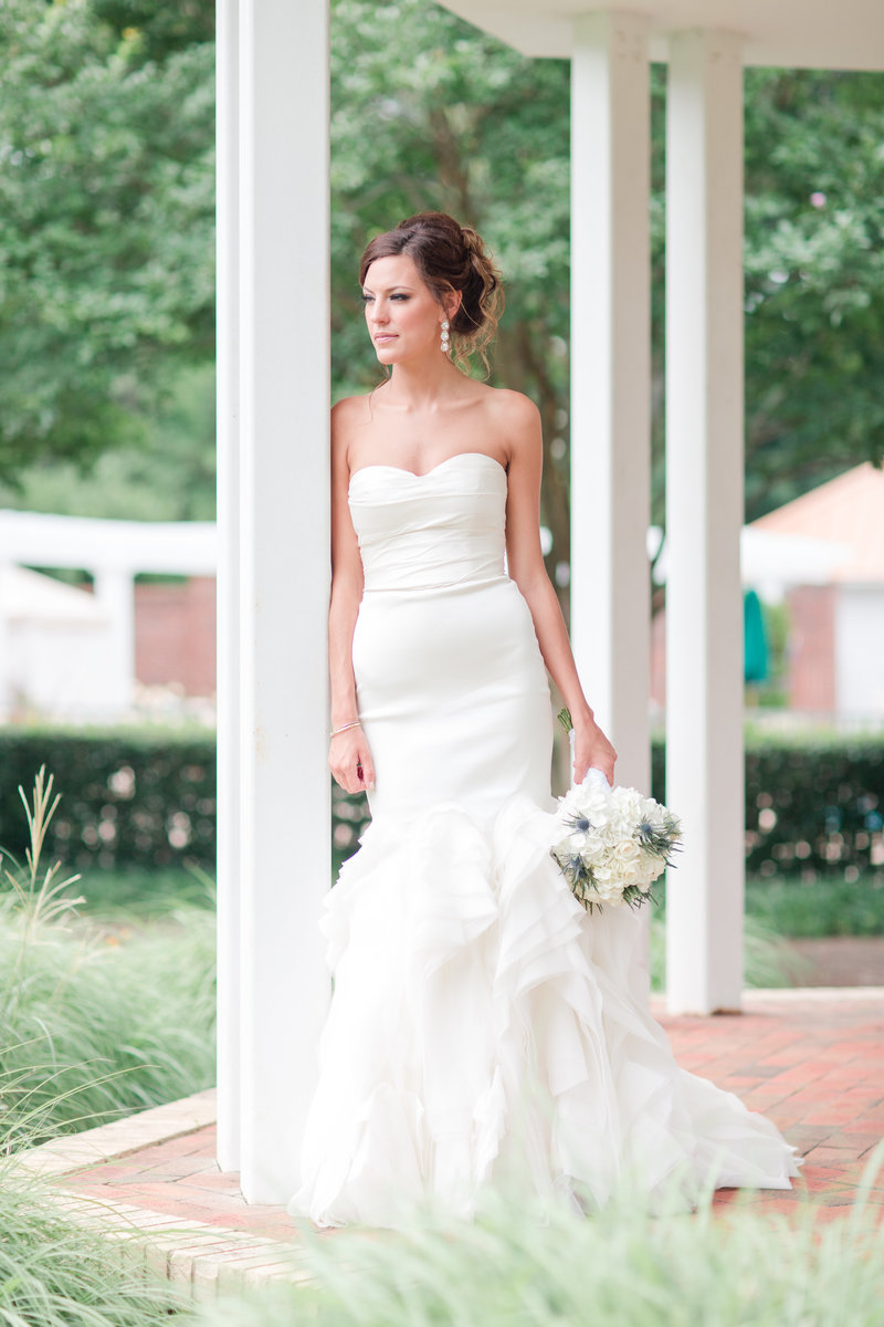Jennifer B Photography- Wedding Day Pinehurst Resort-Pinehurst NC-Jack Hadden Florist-Bridal Portrait