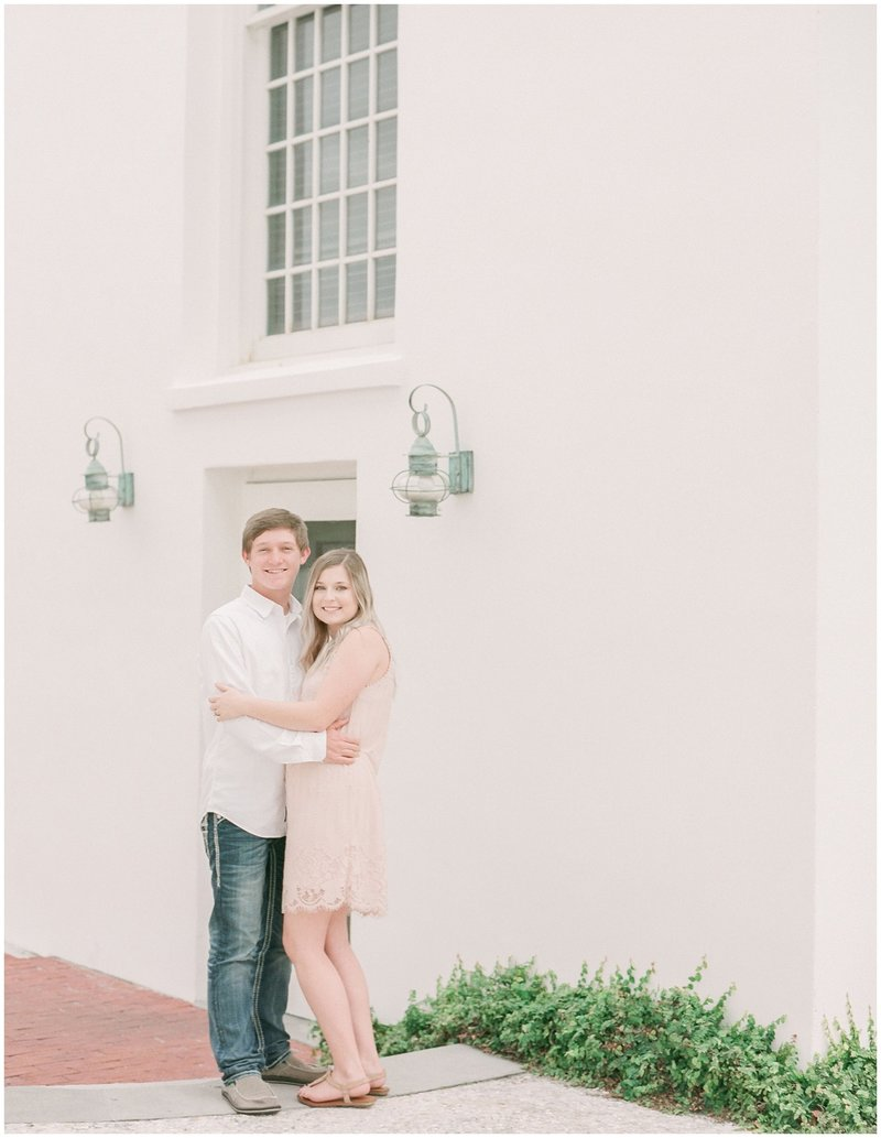 Daniel & Maegan's Engagement Session in Rosemary Beach Florida - Jesse Carleton Photography
