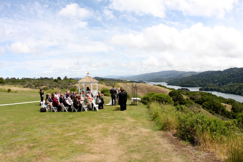 wedding on a bluff, wedding photography