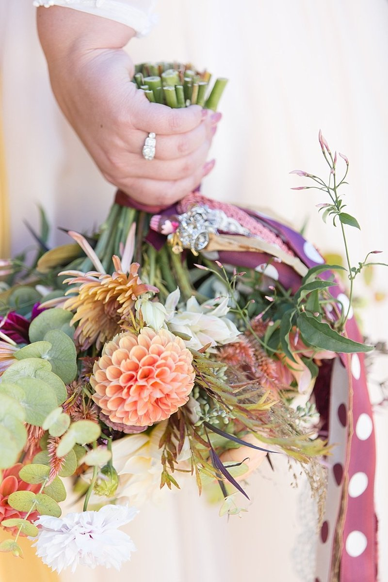 fall wedding bouquet | Monique Lockwood