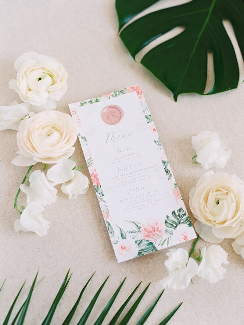pirouettepaper.com | Wedding Stationery, Signage and Invitations | Pirouette Paper Company | Menus + Programs 45