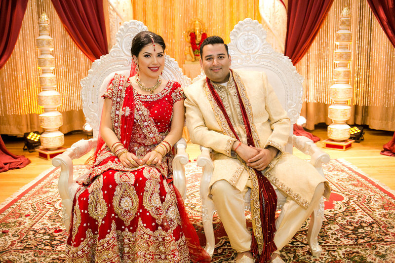 traditional Indian wedding in LA
