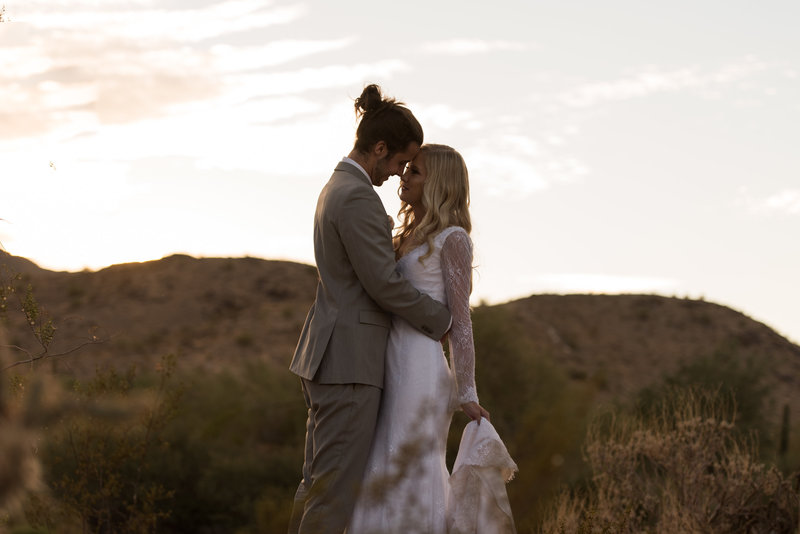 engagement in the desert