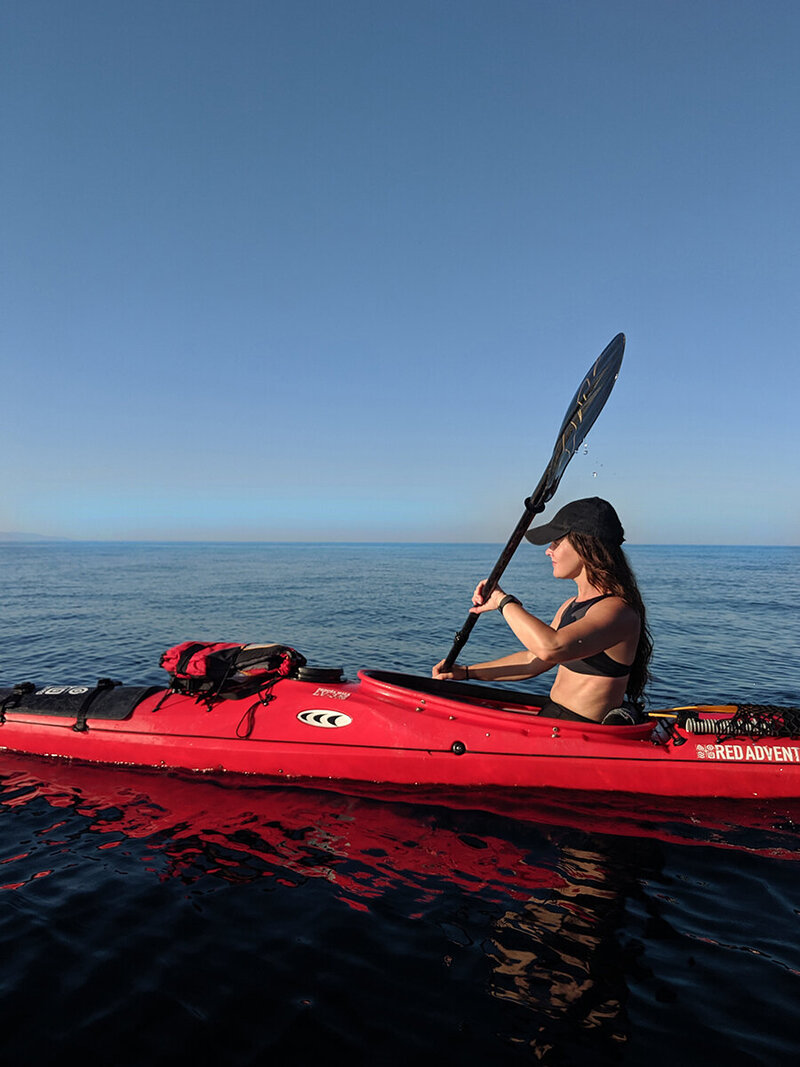 Dani Bruflodt kayaking croatia
