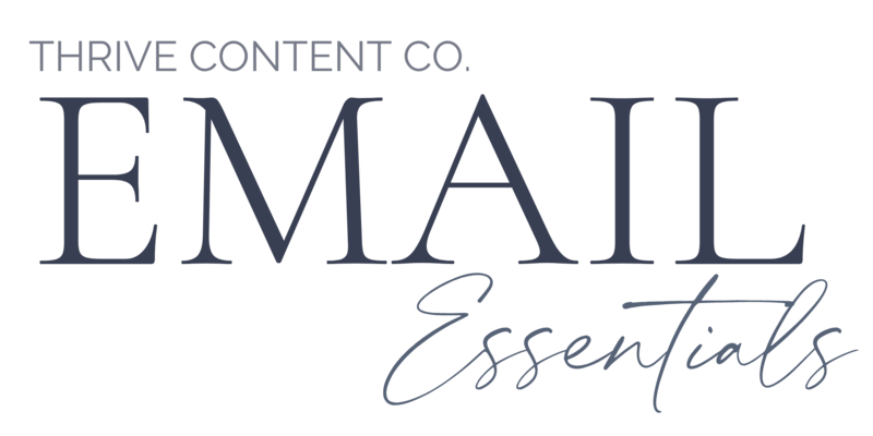 Copy of Email Essentials