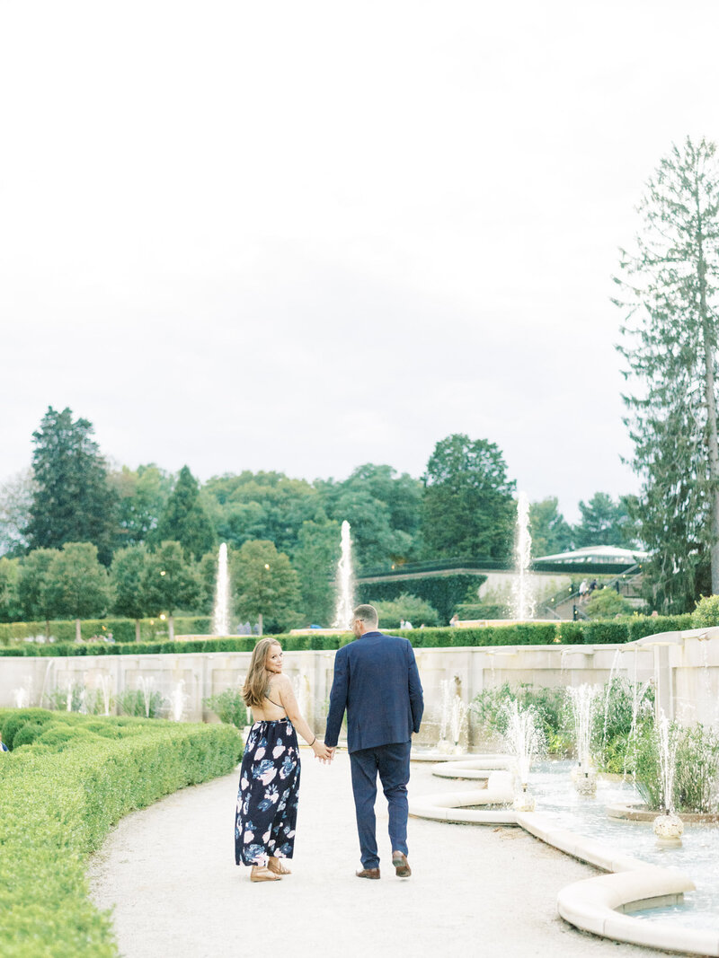 Amarachi Ikeji Photography | Rachel & Alex - Longwood Gardens Engagement Session 178