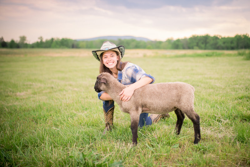 country farm senior pictures frederick maryland photographer--2