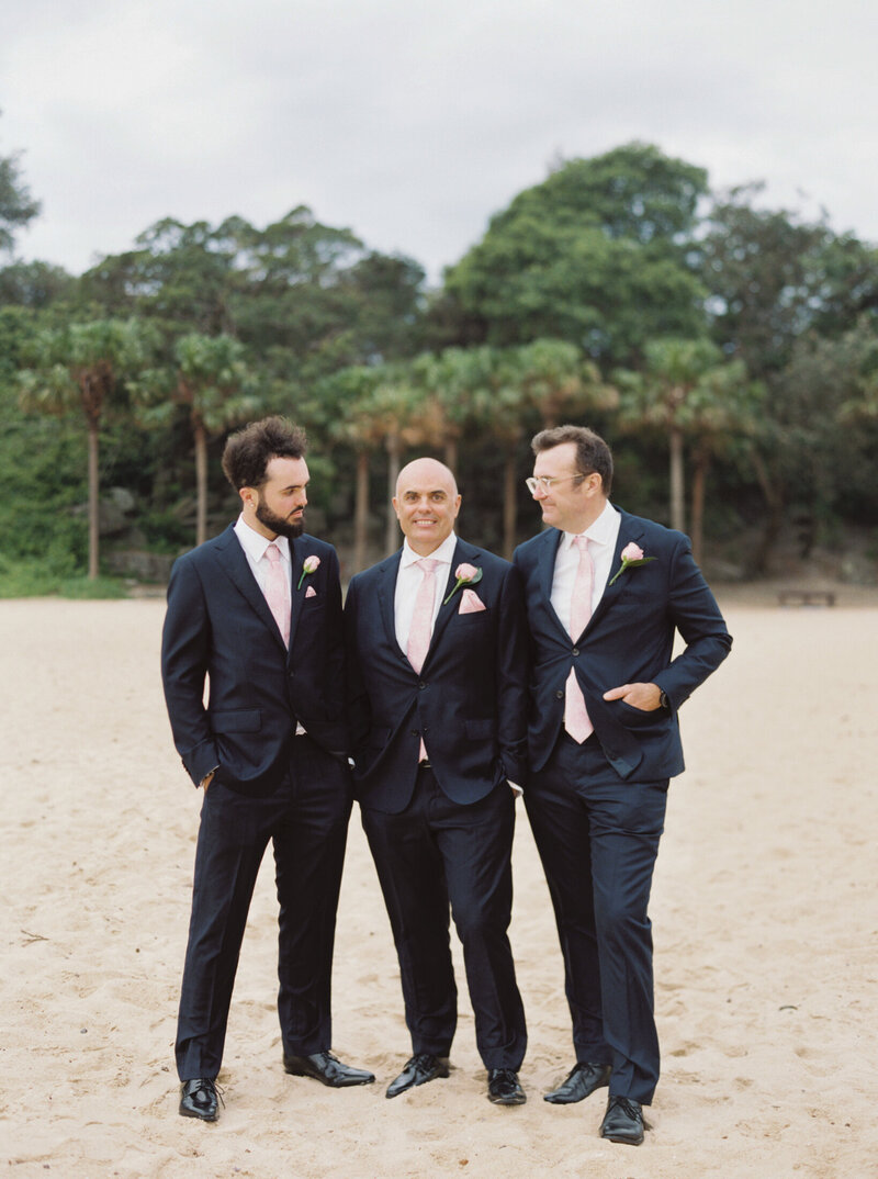 The Boathouse Shelly Beach, Manly Fine Art Film Elopement Wedding Photographer Sheri McMahon --00058