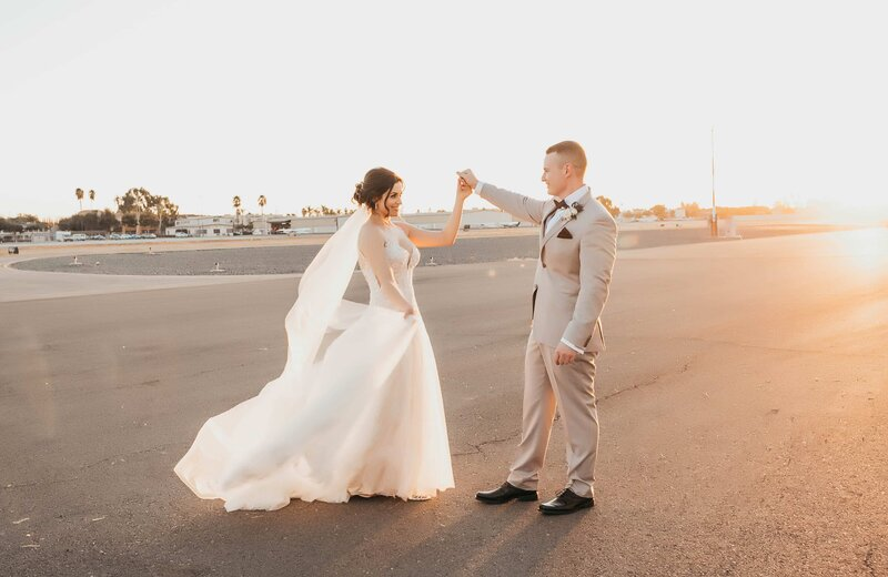 Hangar 21 Wedding - Fullerton Wedding Photographer