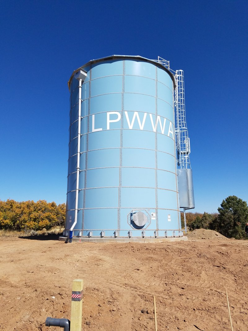 LaPlata Water Authority_Durango, CO_31x43 230K gal