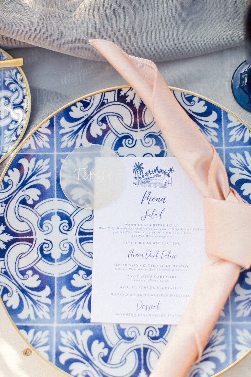 pirouettepaper.com | Wedding Stationery, Signage and Invitations | Pirouette Paper Company | Menus + Programs 23