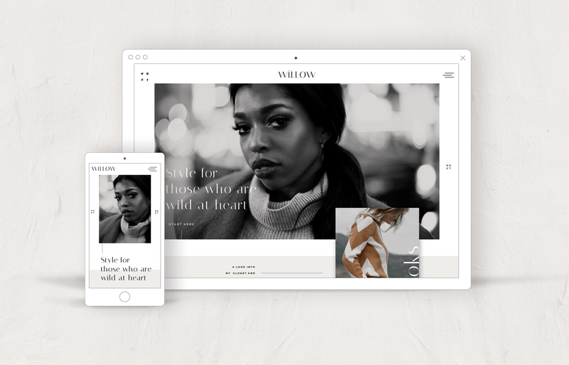 Showit Website Templates for Creatives