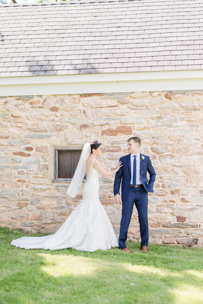 first look at springfield manor winery and distillery wedding by costola photography