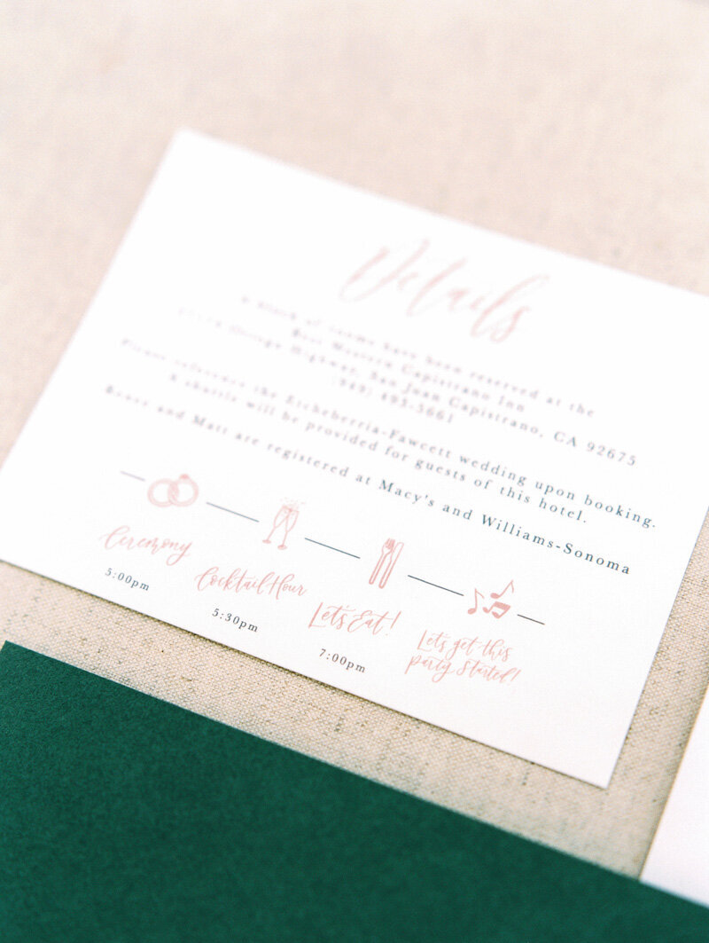 pirouettepaper.com | Wedding Stationery, Signage and Invitations | Pirouette Paper Company | Invitations | Jordan Galindo Photography _ (55)