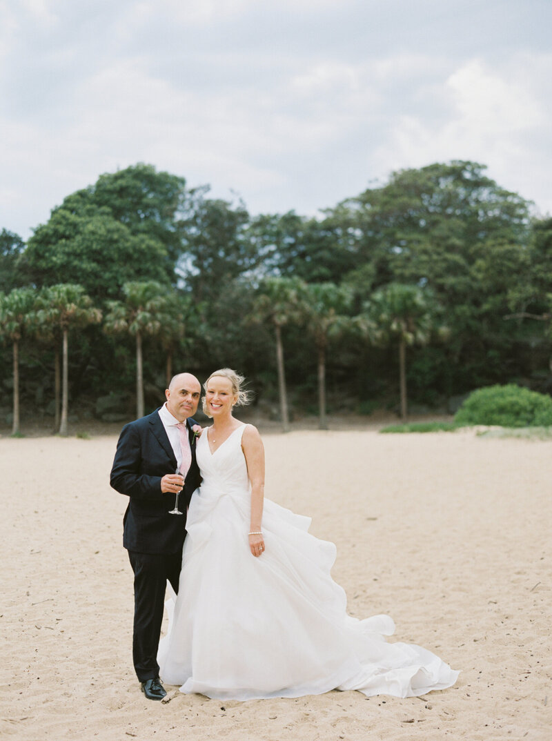 The Boathouse Shelly Beach, Manly Fine Art Film Elopement Wedding Photographer Sheri McMahon --00073