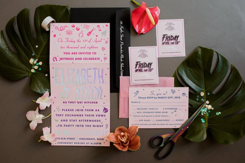rhinegeist-neon-pink-tropical-wedding-4